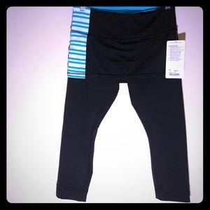 NWT Lululemon HTF skort leggings black 8 spring
